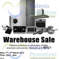 Read more about Fagor Warehouse Sale Up To 60% Off 1 - 2 Mar 2013