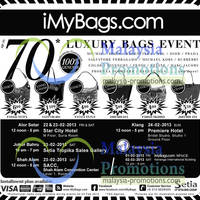 Read more about iMyBags Branded Handbags Sale Up To 70% Off 22 - 24 Feb 2013