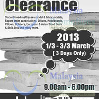 Read more about Dreamland Manufacturer's Clearance Sale 1 - 3 Mar 2013