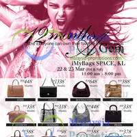 Read more about iMyBags Space Branded Handbags Clearance Sale @ Kenanga Intl Building 22 - 23 Mar 2013