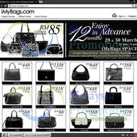 Read more about iMyBags Space Branded Handbags Clearance Sale @ Kenanga Intl Building 29 - 30 Mar 2013