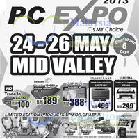 Read more about PC Expo 2013 @ Mid Valley 24 - 26 May 2013