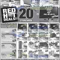 Read more about Courts Red Hot Deals Offers 6 - 7 Apr 2013