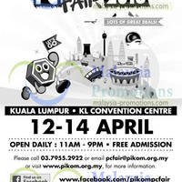 Read more about Pikom PC Fair 2013 @ KL Convention Centre 12 - 14 Apr 2013