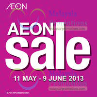 Read more about AEON Sale 11 May - 9 Jun 2013