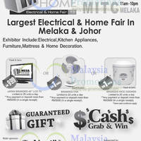 Read more about Mega Home Electrical & Home Fair 2013 @ MITC Melaka 6 - 9 Jun 2013