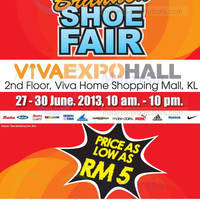 Read more about Bata Branded Shoe Fair @ Viva Home 27 - 30 Jun 2013