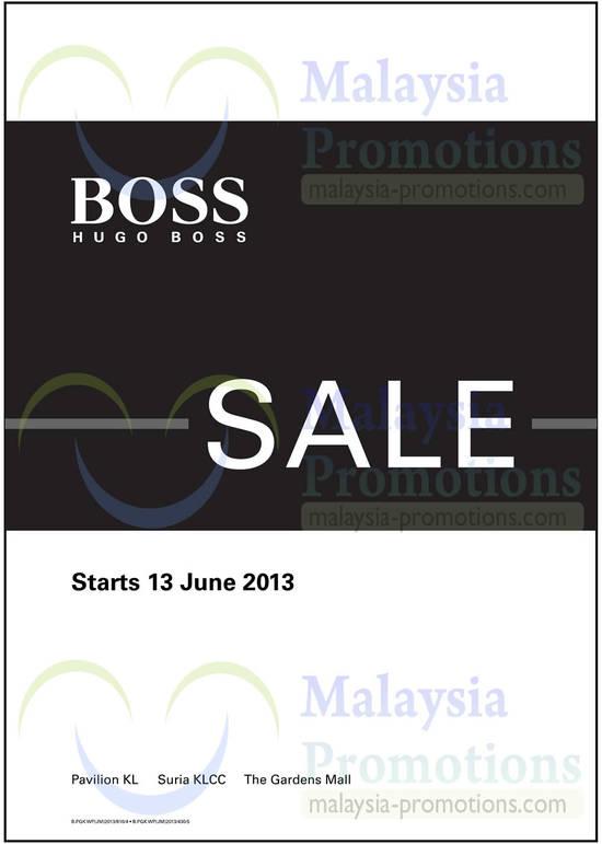 Hugo Boss 12 Jun 2013