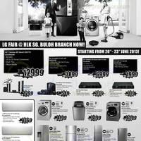 Read more about LG TV, Home Appliances & Other Electronics Fair @ HLK SG Buloh Branch 20 - 23 Jun 2013
