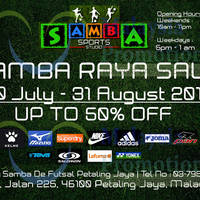 Read more about Samba Raya Up To 50% Off SALE 10 Jul - 31 Aug 2013