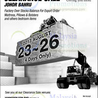 Read more about Dreamland Warehouse SALE @ Johor Bahru 23 - 26 Aug 2013