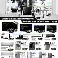 Read more about HLK LG Electronics & Appliances Fair @ Bandar Botanic 22 - 25 Aug 2013
