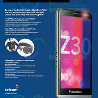 Read more about BlackBerry Z30 Availability & Launch Promos @ Celcom 4 Oct 2013