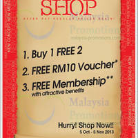 Read more about Reject Shop Buy 1 Get 2 FREE & Other Promo 5 Oct - 5 Nov 2013