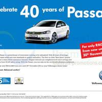 Read more about Volkswagen Passat Promo Offer 29 Nov 2013