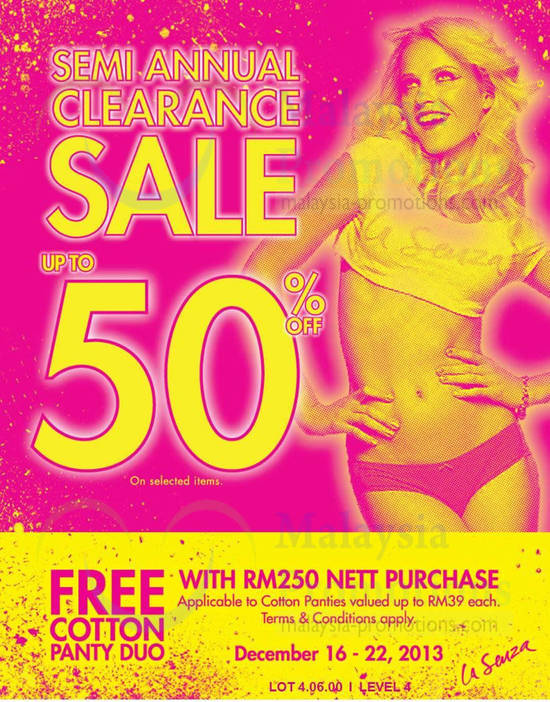 16 Dec FREE Cotton Panty Duo at Pavilion KL