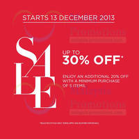 Read more about Banana Republic Up To 30% OFF Storewide SALE 13 Dec 2013