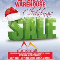 Read more about Big Brand Fashion Branded Apparels Warehouse SALE @ Metro Mall 20 - 24 Dec 2013