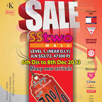Read more about Big Brand Fashion Branded Apparels SALE @ SStwo Mall 6 - 8 Dec 2013