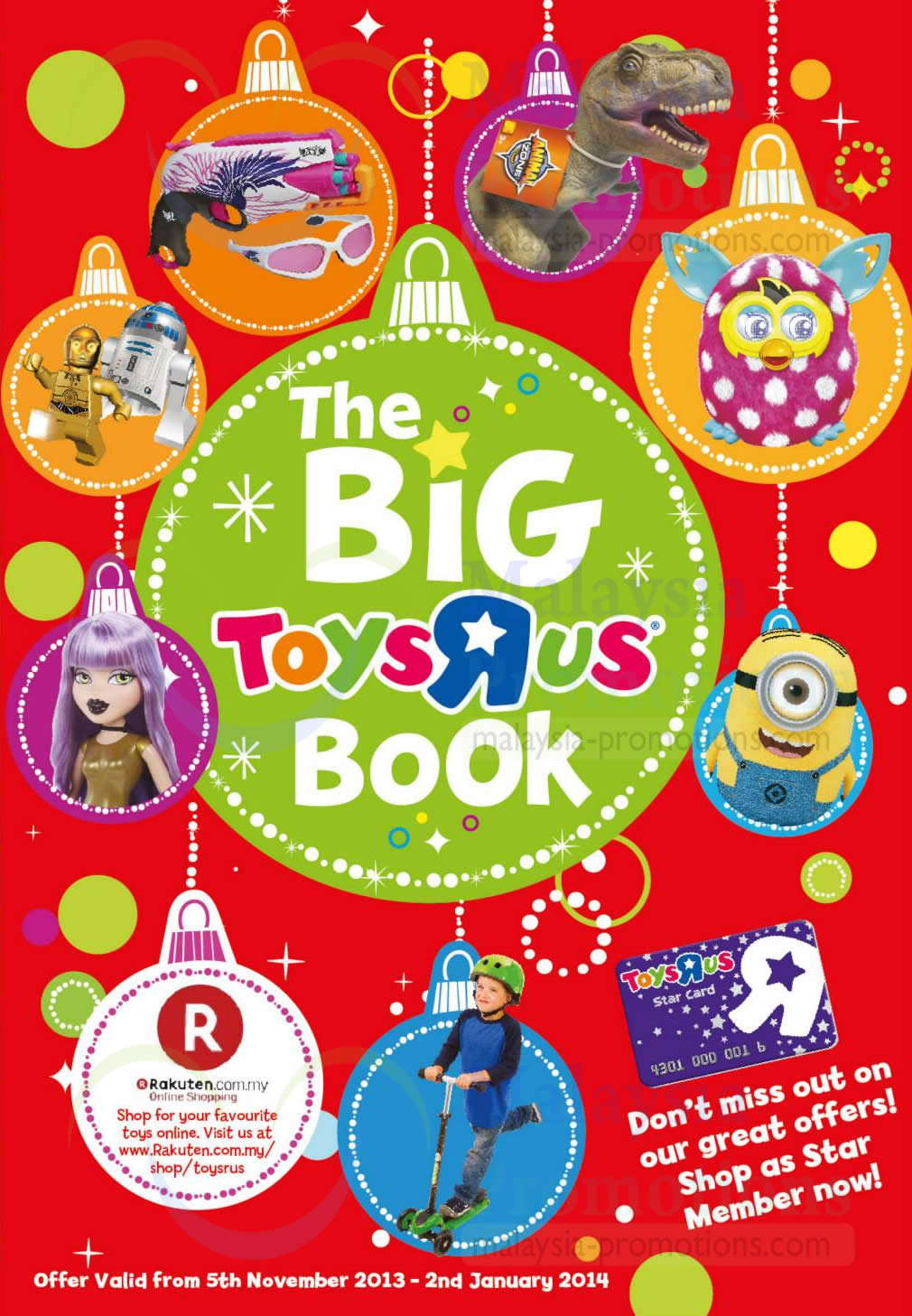 "Toys R Us Big Book : The big toys ""r us book offers nov jan"