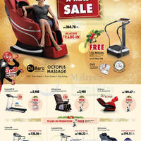 Read more about Gintell Fitness Equipment & Massage Chairs Offers @ Pavilion KL 4 Dec 2013 - 5 Jan 2014