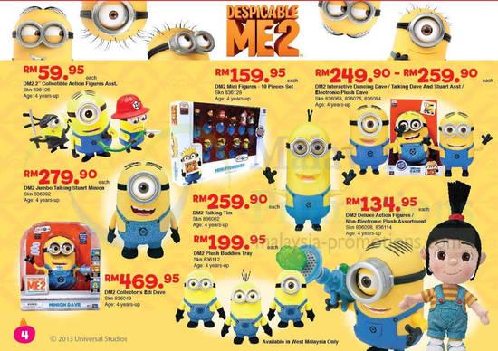 """Toys R Us Toy List : Toys """"r us despicable me price list dec"""
