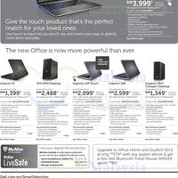 Read more about Dell Notebooks & Desktop PC Offers 13 - 16 Jan 2014