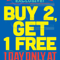Read more about F.O.S Buy 2 Get 1 FREE Promo @ Cheras Sentral 28 Jan 2014