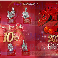 Read more about Lazo Diamond 10% OFF Storewide New Year SALE 27 Jan - 28 Feb 2014