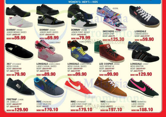 Nike Shoes Malaysia Price List