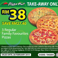Read more about Pizza Hut Delivery & Takeaway Coupons 17 Jan - 28 Feb 2014