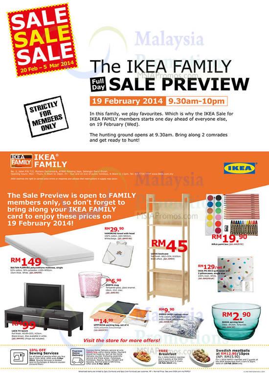 ikea family offers 17 feb 2014 ikea sale 20 feb 5 mar 2014. Black Bedroom Furniture Sets. Home Design Ideas