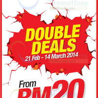 Read more about Reject Shop Double Deals Promotion 21 Feb - 14 Mar 2014