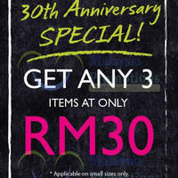 Read more about The Body Shop RM30 For 3 Small Items Promo 18 Mar 2014