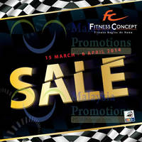 Read more about Fitness Concept GP SALE 15 Mar - 6 Apr 2014