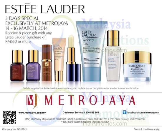Estee Lauder built a cosmetics empire on the motto,
