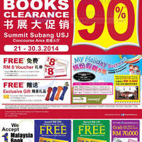 Read more about Popular Book Fair Up To 70% OFF @ Summit Subang USJ 21 - 30 Mar 2014