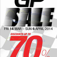 Read more about Reject Shop Up To 70% OFF GP SALE 14 Mar - 6 Apr 2014