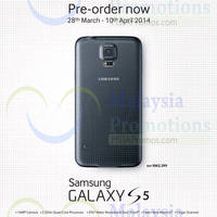 Read more about Samsung Galaxy S5 Pre-Order Opens From 28 Mar - 10 Apr 2014
