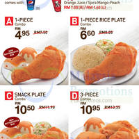 Check out KFC's NEW Lunch & Dinner Treats valid from 12pm - 3pm (lunch) and 6pm - 9pm (dinner)