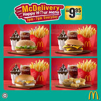 Read more about McDonald's McDelivery RM9.95 Special Set Meals Happy Hour Menu 8 Apr 2014
