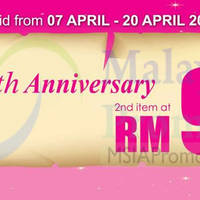 Read more about Vern's RM9 2nd Item 9th Annviersary Promo 7 Apr - 16 May 2014