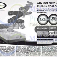 Read more about Dreamland Inspirasi Plus Mattress Promo 23 May 2014