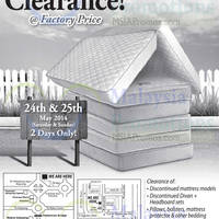 Read more about Dreamland Warehouse Clearance @ Kompleks Selayang & Desa Sri Hartamas 24 - 25 May 2014