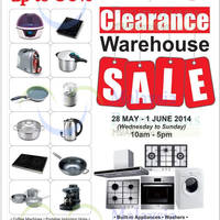 Read more about Fagor Home Kitchen Appliances Warehouse SALE @ Shah Alam 28 May - 1 Jun 2014