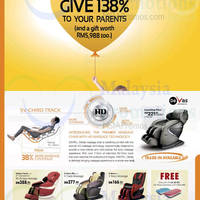 Read more about Gintell Devas Massage Chair 30 May 2014