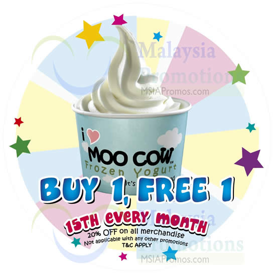 Moo Cow Frozen Yogurt 15 May 2014