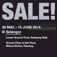 Read more about Parkson Extreme Warehouse Sale @ Selangor 2 Locations 28 May - 15 Jun 2014