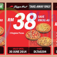 Read more about Pizza Hut NEW Delivery & Takeaway Coupons 20 May - 30 Jun 2014