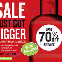 Read more about The Body Shop Up To 70% OFF SALE 16 May - 8 Jun 2014